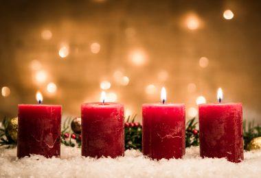 Achtung: Im Advent steigt die Gefahr eines Zimmerbrandes