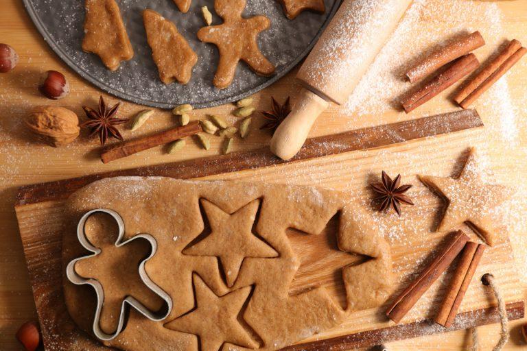 Basteln Sie ein kleines Geschenkpaket für Weihnachtsplätzchen