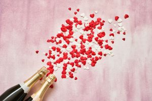 Der richtige Champagner für Verliebte