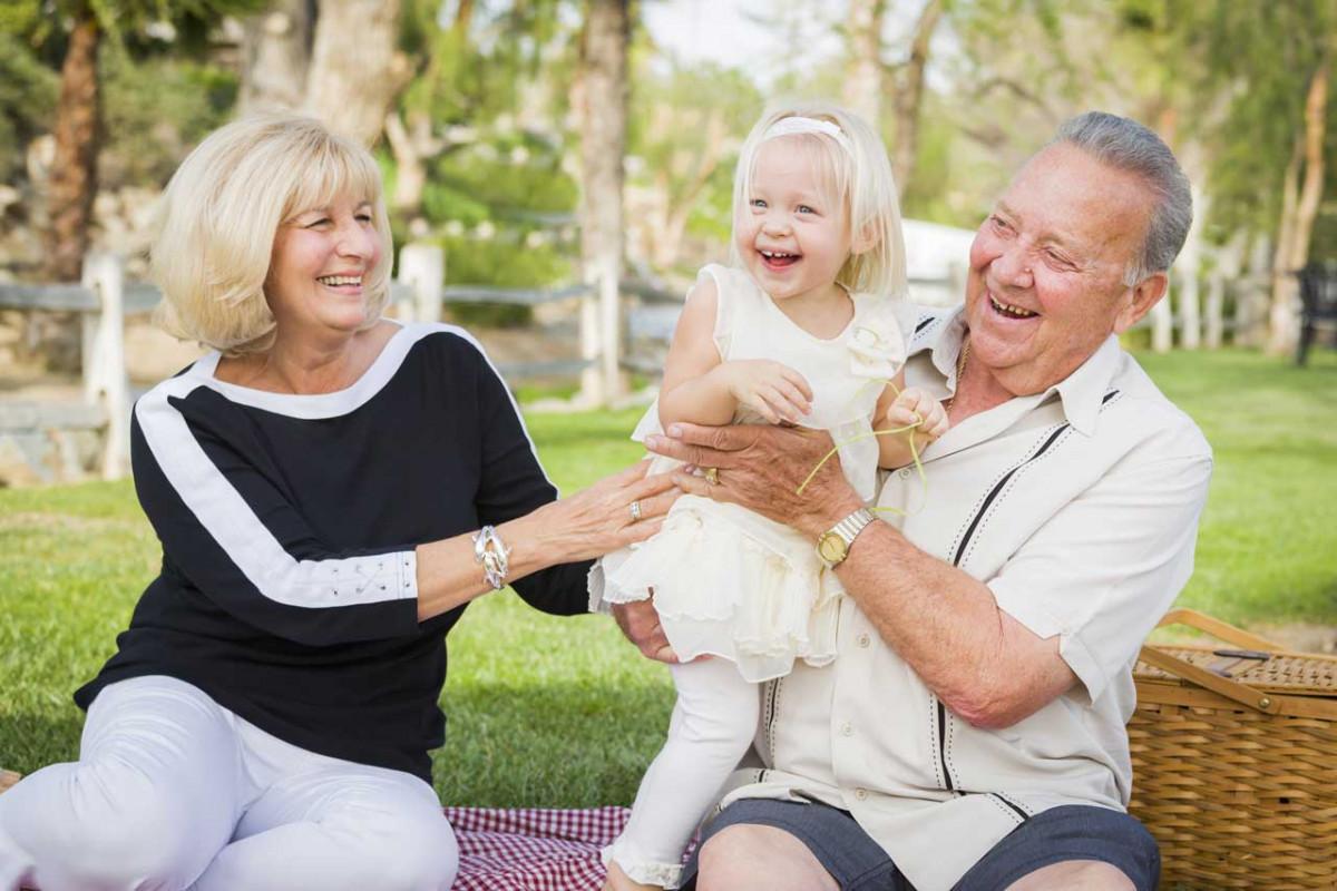 Die Rolle der Großeltern in der Familie