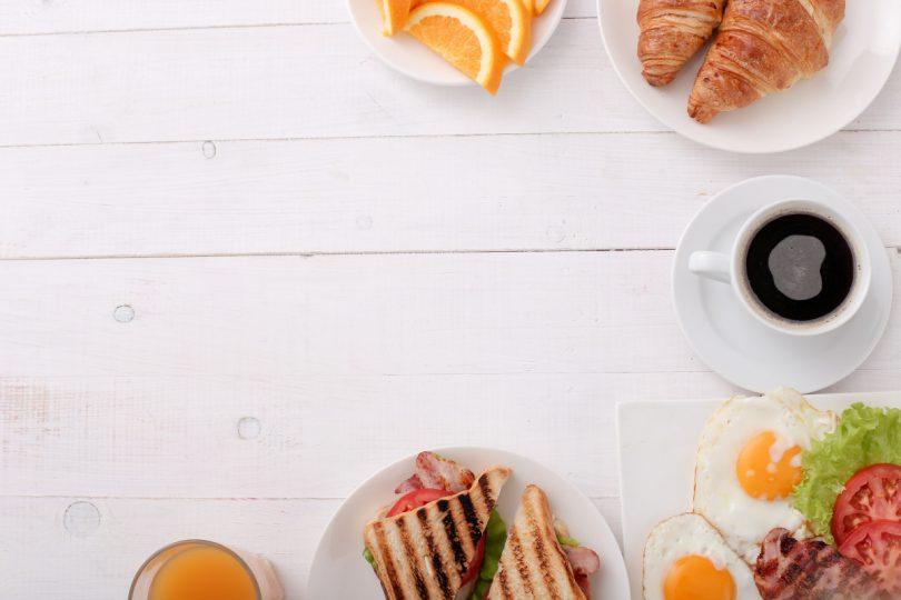 Schlanke Linie durch gutes Frühstück