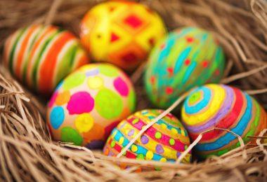Basteln für Ostern: Osternest