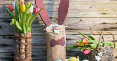 Basteln für Ostern: Ein Osterhäschen