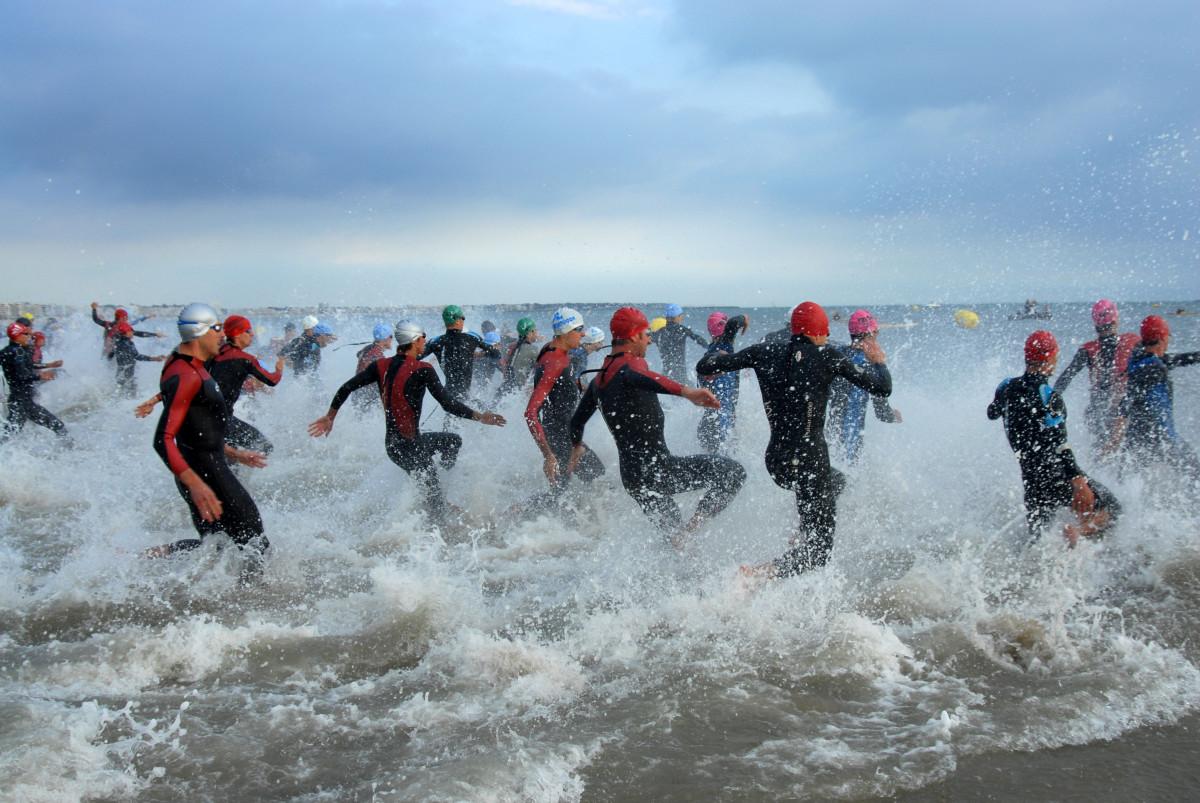 Fünf Tipps für den ersten Triathlon: Schwimmen