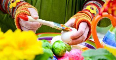 Ostereier Bemalen Anleitung Für Bemalte Ostereier Teil 4