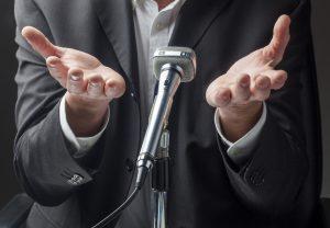 Reden schreiben: Einfach macht den Meister