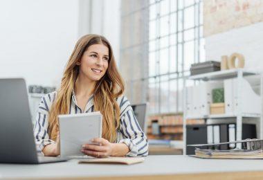 Schreibtischarbeit: Sind Sie gut organisiert?
