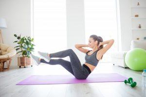 Bauch, Beine, Po: Kinderleichte Übungen für Ihre Schönheit