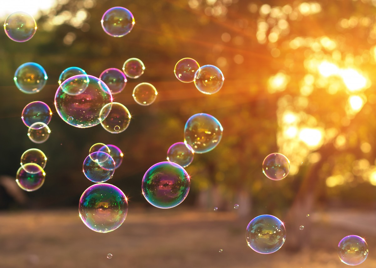 Seifenblasen: Ideen rund um den Spieleklassiker