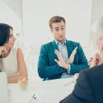 Positives Nein-Sagen bei der Arbeit im Büro