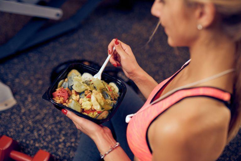 Ernährung im Sport mit Nahrungsergänzung
