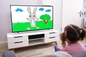 Rückenschmerzen: Zu viel Fernsehen schadet dem Kinderrücken
