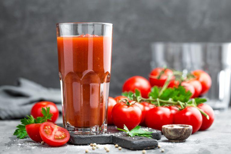 Smalltalk über Tomatensaft
