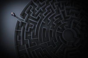 Labyrinth oder Irrgarten: Was ist der Unterschied?