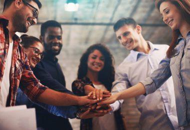 Durch gemeinsame Ziele entsteht ein Team