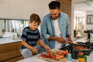 Gemeinsames Kochen für mehr Harmonie und Freude in Ihrer Familie