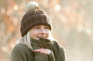 Vorsicht: Das Herz vor Kälte schützen