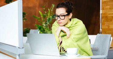 Büroluft im Winter: Risiken senken