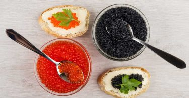 Kaviar: Luxuriöse Delikatesse und Vorspeise