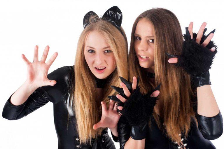 Kostüme selber machen - Katzenkostüm aus Schrank und Bastelkiste