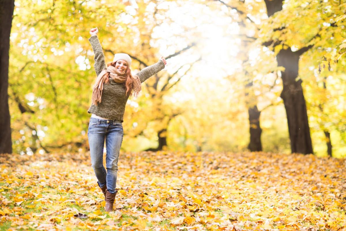 Pausen im Herbst: Eine Übung für das Büro