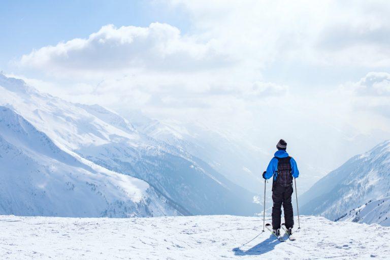 Wintersport: Den Rücken schützen