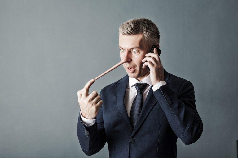 Notlüge: Wie Sie aus der Lügenfalle galant heraus kommen
