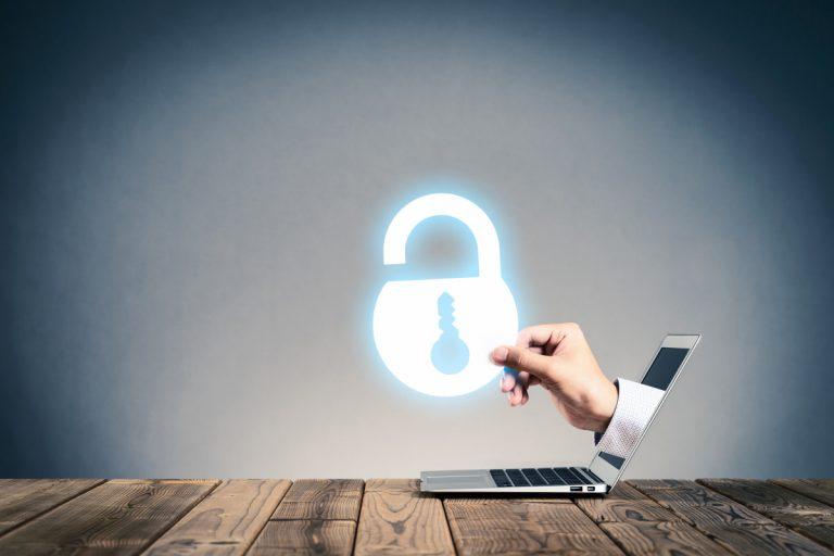 Erhöhen der Cyber-Sicherheit gegen Gefahren im Internet