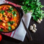 Bunte Bohnensuppe für kalte Tage