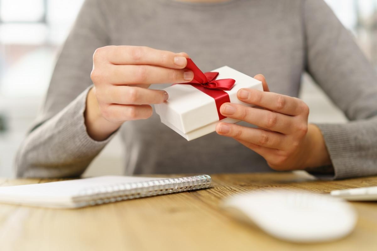 Geschenke an Geschäftsfreunde