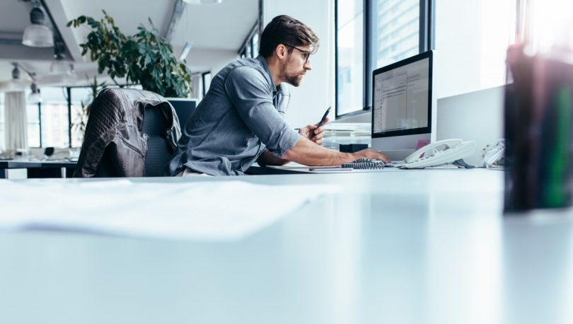 Arbeit am Bildschirm: So sitzen Sie richtig