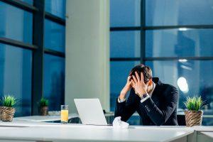 Burnout: Mangelnde Leistungsfähigkeit
