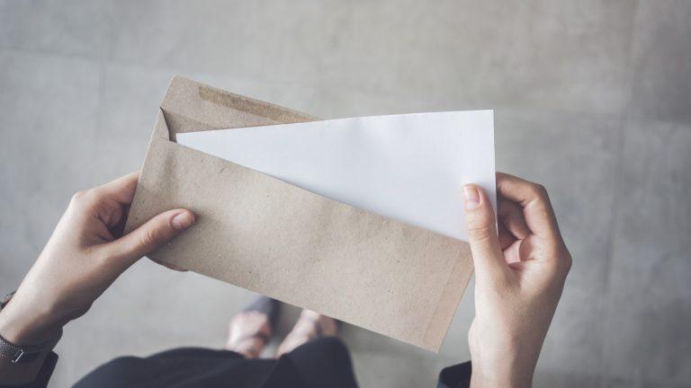 Einen Brief schreiben und moderner formulieren