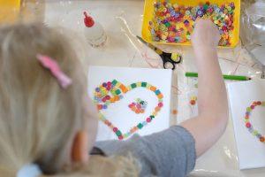Kindergeburtstag: Süßes Basteln (Teil 1)
