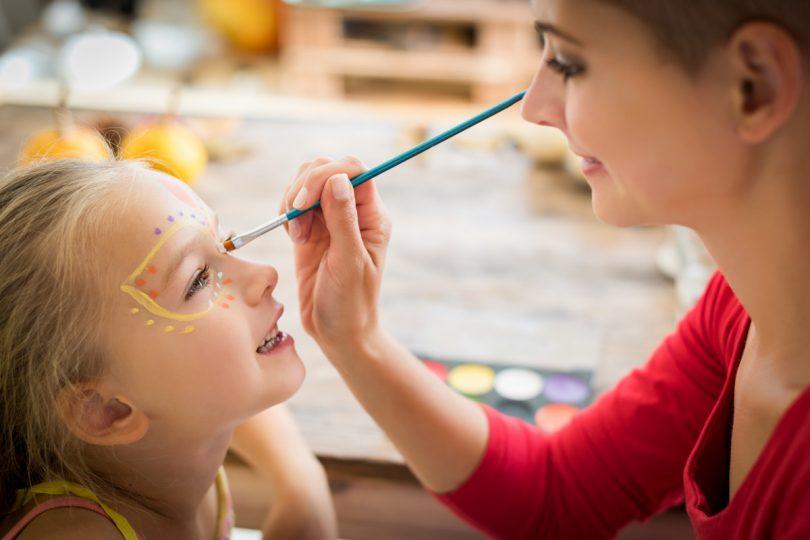 Kinderschminken – Anleitung, so wählen Sie das richtige Material