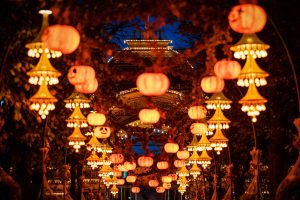 Halloween im Kopenhagener Tivoli