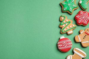 Lassen Sie an Weihnachten ein paar Kekse links liegen!