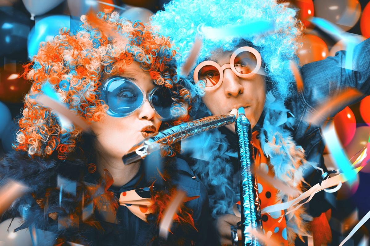 Karnevalskostüme selbstgemacht - Schminken - Perücken - Masken