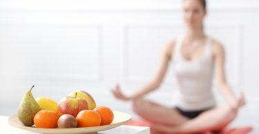 Yoga und vegetarische Ernährung