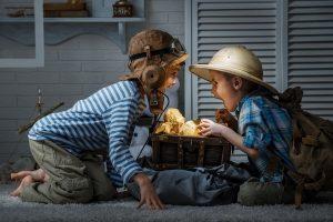 Kindergeburtstag: Schatzsuche im Dunkeln (Teil 12)