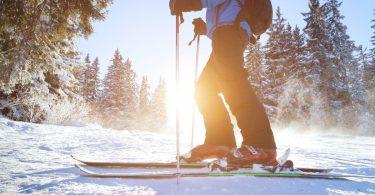 Herzinfarkt beim Skifahren