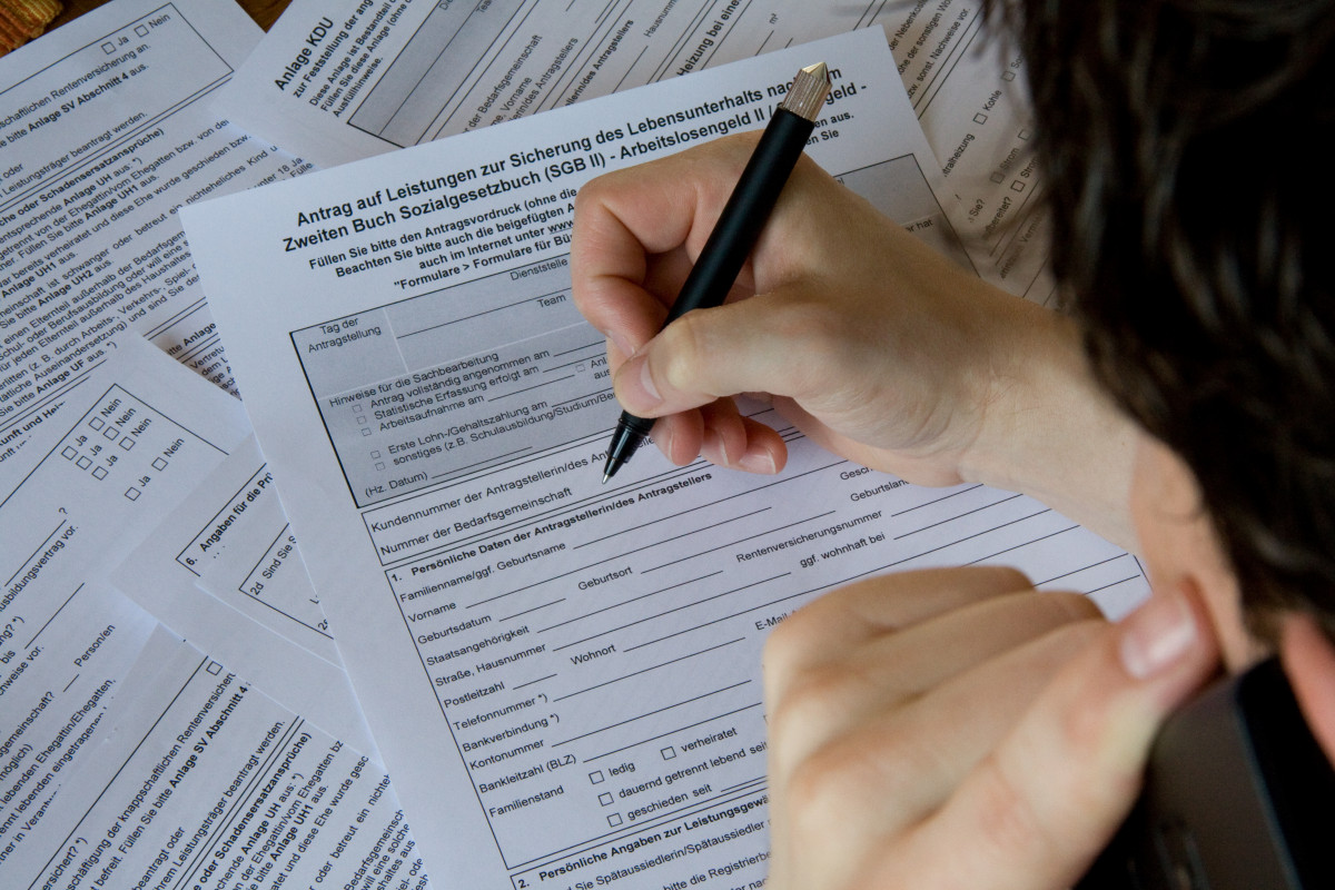 Welche Unterlagen benötigt man für den ALG 1 Antrag?
