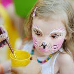 Kinderschminken Vorlagen: Katze einfach entzückend