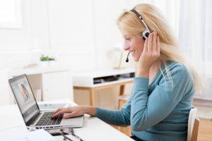 Skypen statt Telefonieren