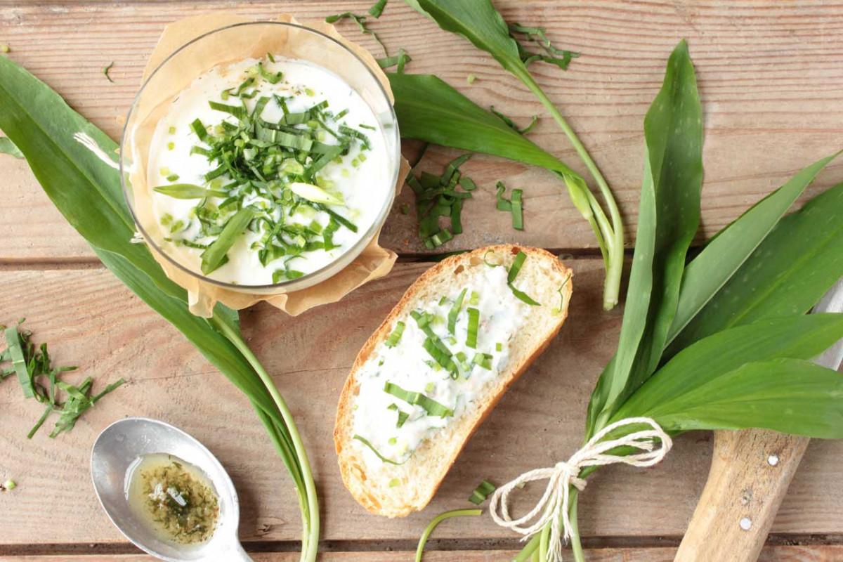 Bärlauch hat Saison: Köstlich duftende basische Gerichte mit Bärlauch