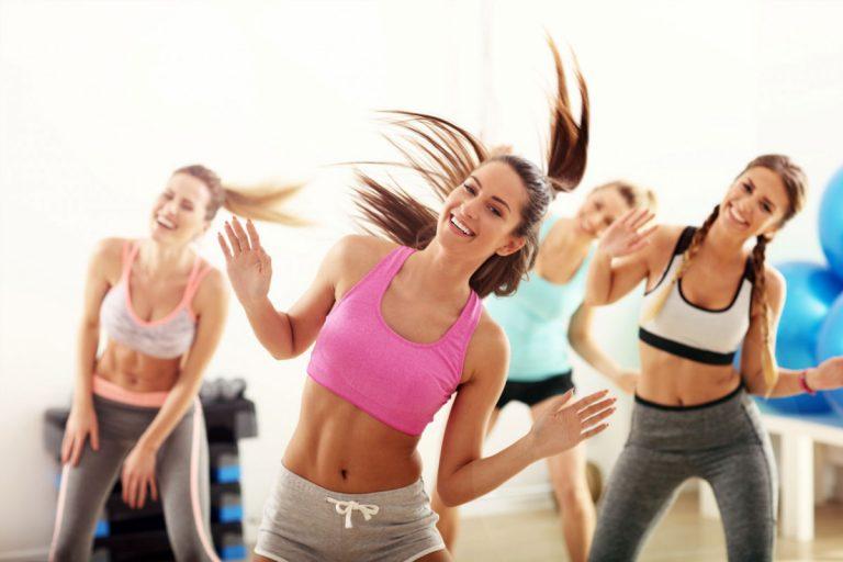 Zumba Workout - Fitnesstraining zu lateinamerikanischen Rhythmen