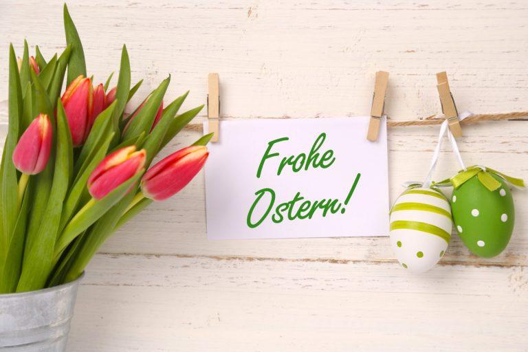 Ostergrüße und andere originelle Werbung zu Ostern