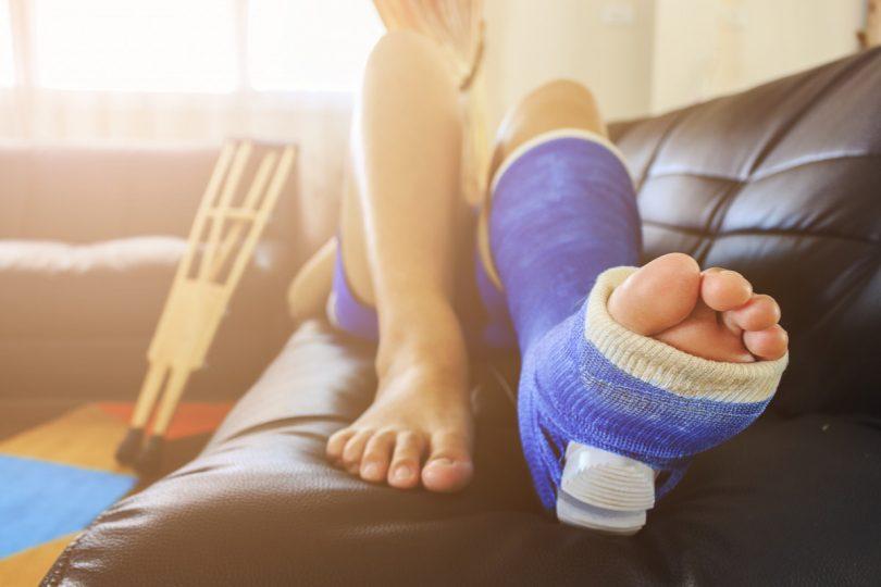 Knochenbruch: Was ist zu tun?