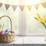 Basteln Sie mit Ihrem Kind Tischkarten für Ostern