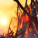 Ostern: Osterfeuer und Osterräder - Lassen Sie Ihre Sorgen los